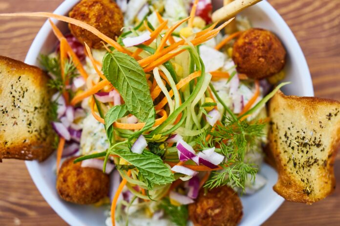 Vegansk salat